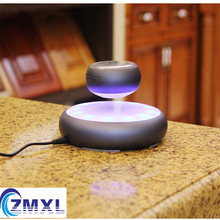 M6 Magnetic Levitation Wireless Bluetooth Speaker UFO Suspension Metal Speaker USB Interface Support TF Card MP3 Player