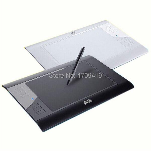 Offre spéciale nouvelle tablette de dessin graphique de tablette graphique de tablette de dessin de gafairy 860 T 8 ''avec la carte de 64 GB TF avec le stylo numérique