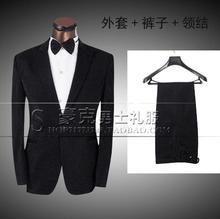 Costume stage clothing for men suit set with pants 2017 mens suits groom formal dress wedding suit + pant + tie plus size 4XL