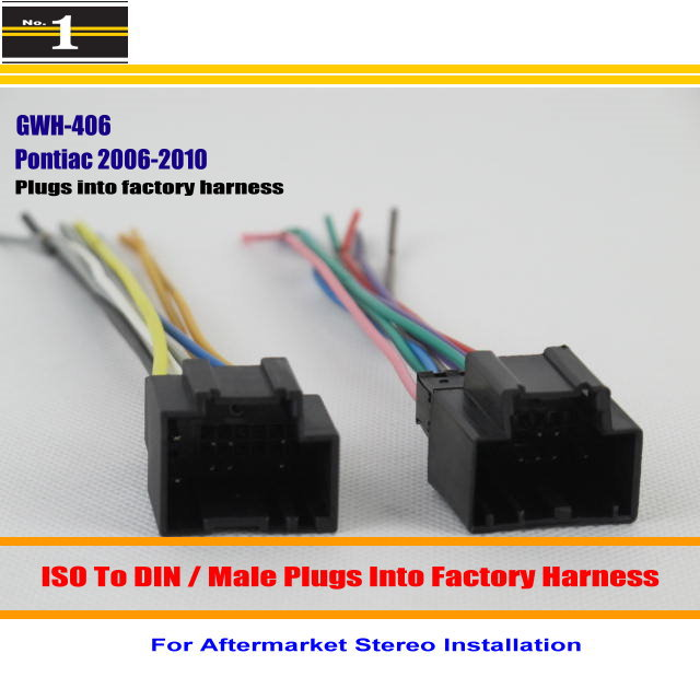 For Pontiac G5 Solstice Torrent Car font b Radio b font Harness Cable Adapter Plugs into 2012 chevy silverado stereo wiring harness efcaviation com 2010 Chevy Silverado Radio Replacement at soozxer.org
