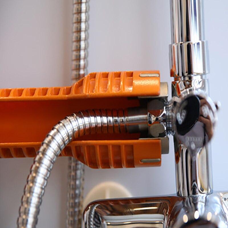 Prostormer grifo de manguera de llave de instalar el grifo Simple y de ahorro de mano de obra multi-función de tubo de agua de la llave