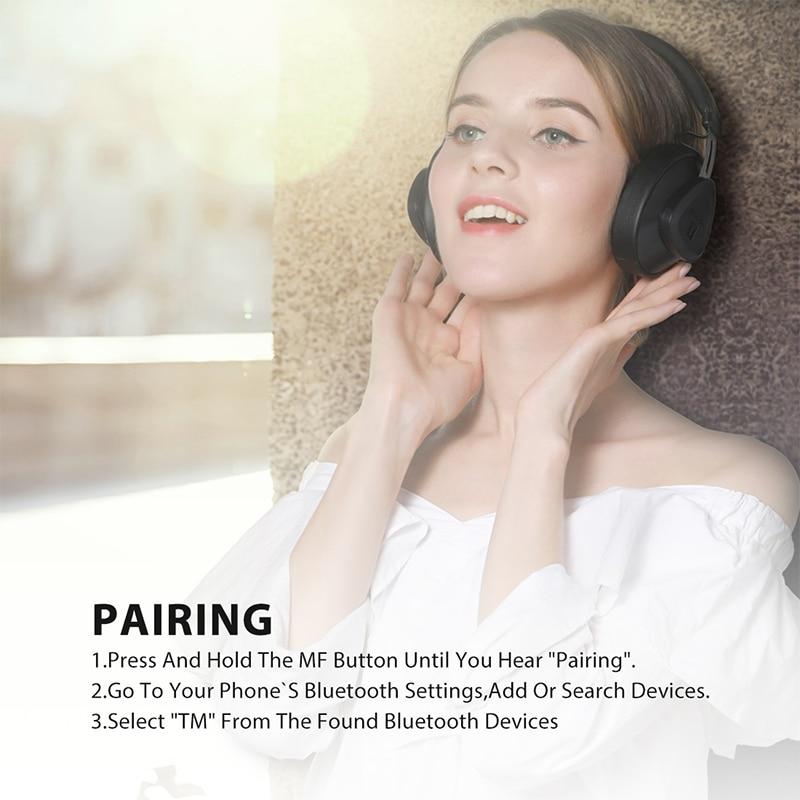 Bluedio wireless headphone with microphone 4