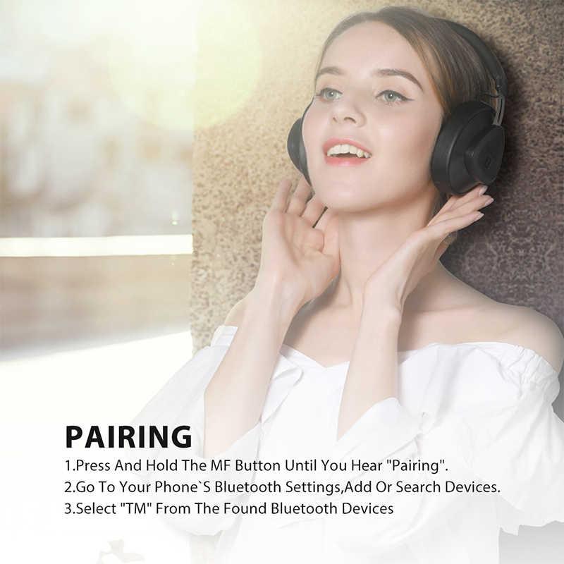 業 Bluedio TM ワイヤレス bluetooth ヘッドフォンマイクモニターメーカーヘッドセット音楽や電話サポート音声制御