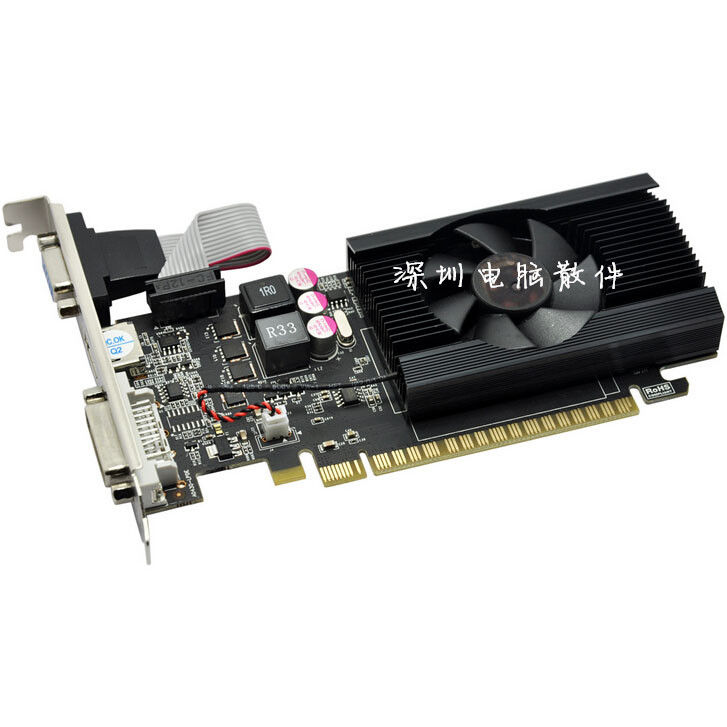 NEW Dell computer small chassis GT730 2G discrete graphics Lenovo server DDR3