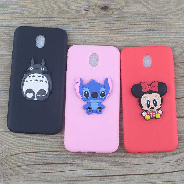 promo code 644bc cee93 US $1.55 |Cute Cartoon Minnie Case for Samsung Galaxy J3 2018 J337 J3V  Achieve Star Cases Stitch Hello Kitty Mickey Cat Soft TPU Cover-in Fitted  Cases ...