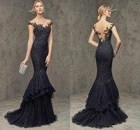 Free shipping 2019 lace mermaid Zuhair Murad dress party spokesman length!Sleeveless, key type Celebrity wedding party