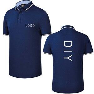 Image 2 - Custom embroidery polo shirt, embroidered business polo shirt, embroidery polo Shirt Uniform Workwear custom