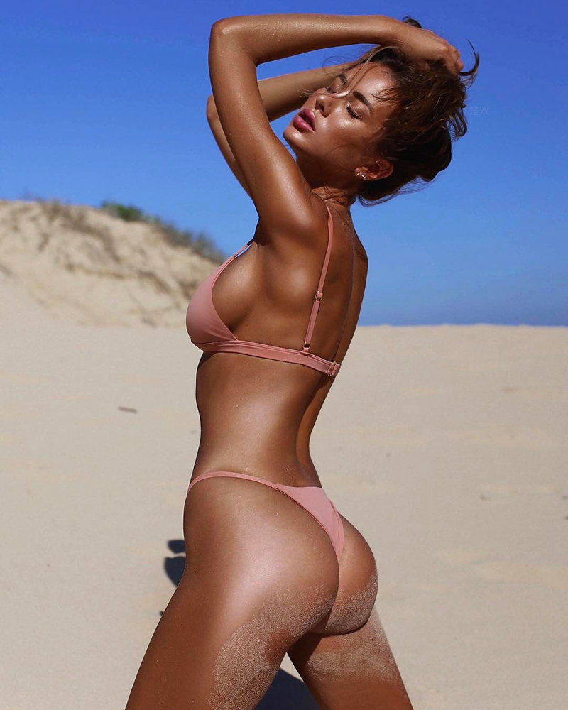 Classic Two Piece Triangle Brazilian Bikini  4