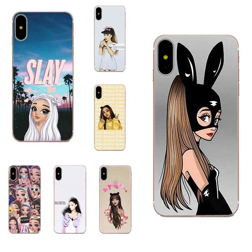 Coque Ariana Grande Soft Protective For Apple iPhone 4 4S 5 5C 5S ...