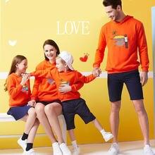 2019 семейные одинаковые наряды хлопковые толстовки свитшот