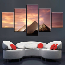 Pyramid Landscape Home Decor Picture Wall Art Canvas HD Printed Paintings Painting Artwork