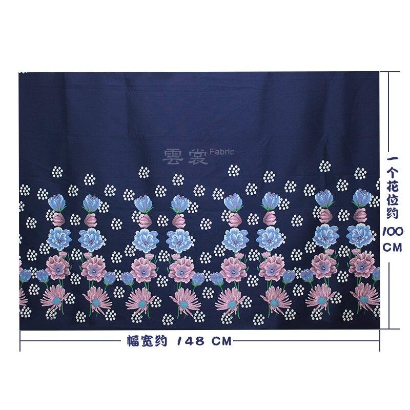 148 cm rose jacquard tissu marque italienne teint en fil mode cheongsam robe jacquard tissu matériel en gros tissu - 5