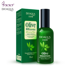 BIOAQUA Olive Oil Essential Oil Repair Hair Care Massage Oil Mask Moisturizing Deep Repair Frizz For Dry Hair Natural Green Vege