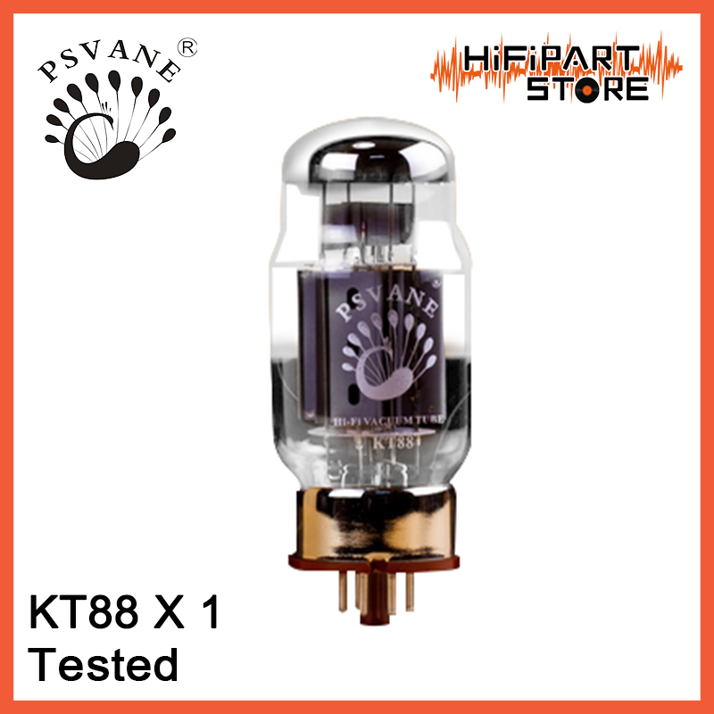 1pc PSVANE KT88 Tested Tube amplifier accessories Repalce Golden Voice Shuguang EH JJ Mullard Golden Lion