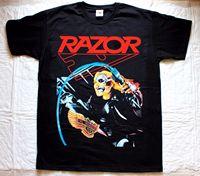 Maquinillas de afeitar mal invaders'85 Thrash Speed metal Band sacrificio s XXL nueva camiseta negra