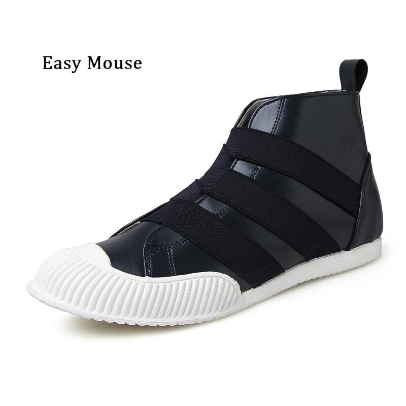 Prix pour Facile de Souris 2017 Hommes Populaires Chaussures de Skate En Plein Air Respirant Trekking Loisirs Véritable Cuir Bottes Hommes Zapatos Dentelle-up