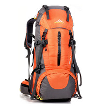 цена на Sport Bag Outdoor Backpack Hiking BackpackMen Women Mountaineering Camping  Waterproof Rucksack Climbing Travel Sport Bags 50L