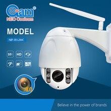 Owlcat 1.0 MegaPixels CMOS Wifi IP Dome Camera PTZ wireless 10X Optica Zoom H.264 720P Pan Tilt SD Card Night vision Motion