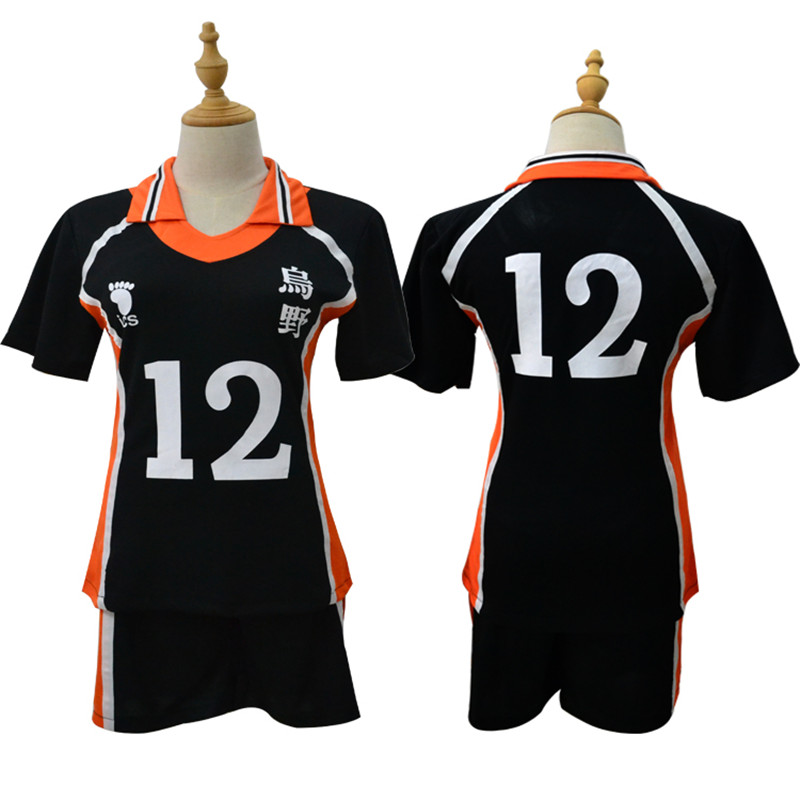 9 Styles Haikyuu Cosplay Costume Men Women Karasuno High School Volleyball Club Hinata Shyouyou Sportswear Jerseys Top Uniform