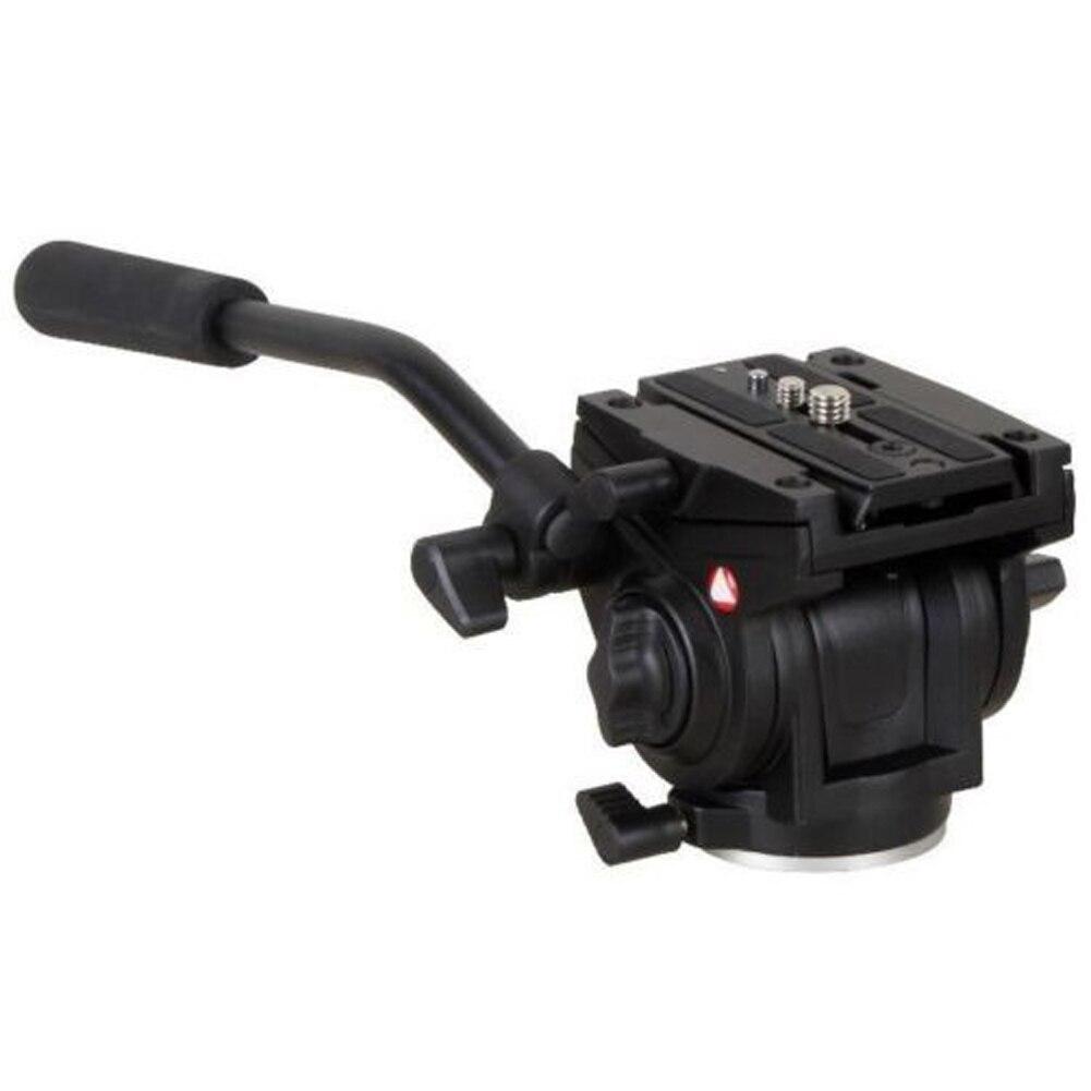 bilder für 701HDV Mini Stativ Kopf W/501PL QR Platte Professionelle Fluid Video Kamera Leichte Kopf für Manfrotto Stativ Pan/Tilt