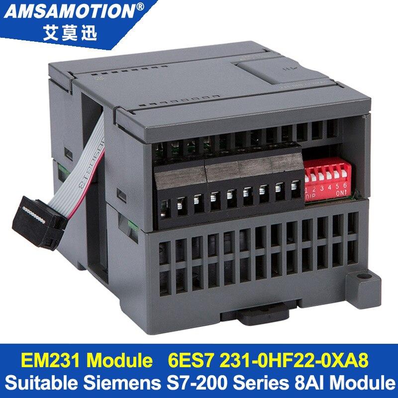 Amsamotion 8AI Modulo di Estensione Adatto Siemens S7-200 PLC Modulo Analogico in Ingresso 8 EM231 6ES7 231-0HF22-0XA8