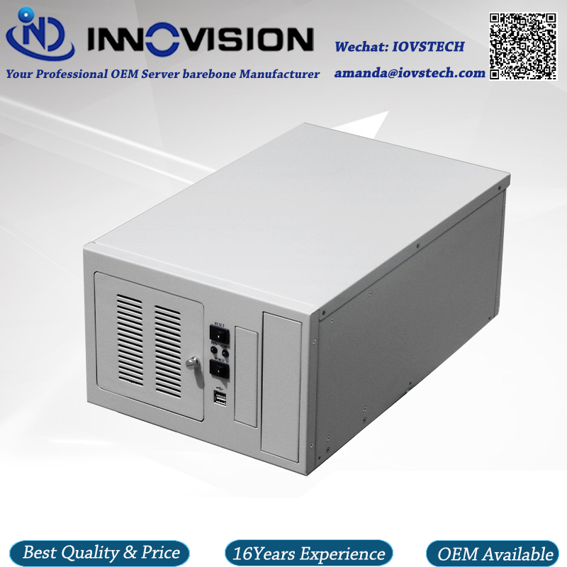 все цены на Compact wallmounted chassis IPC2406C industrial computer case supporting 6slot industrial ISA backplane онлайн