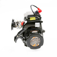 45cc 2 Stroke 4 Bolt Engine With Walbro 1107 Carb for 1/5 LOSI 5IVE T ROVAN LT KM X2 DDT 5T HPI Baja 5B 5T 5SC RC Car Parts