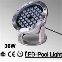 IP68 LED מזרקת אור, 36 אור 3wpool, IP68 מתחת למים אור, הפיסינה אור לברכת שחייה 36 w 24 v AC LPL A 36W 24VAC
