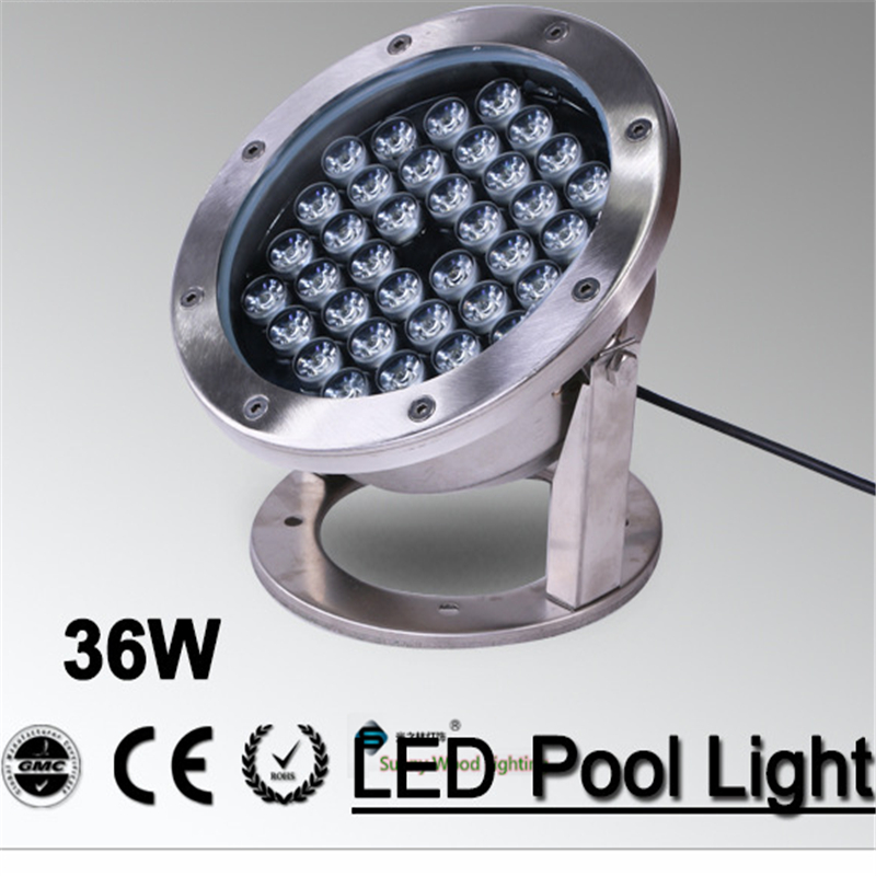 IP68 LED fountain light ,36Wpool light ,IP68 underwater light, piscina light for swimming pool 36W 24V AC LPL-A-36W-24VAC high power led pool light free shipping ip68 fountain light 6w 24v ac led underwater light lpl b 6w 24v
