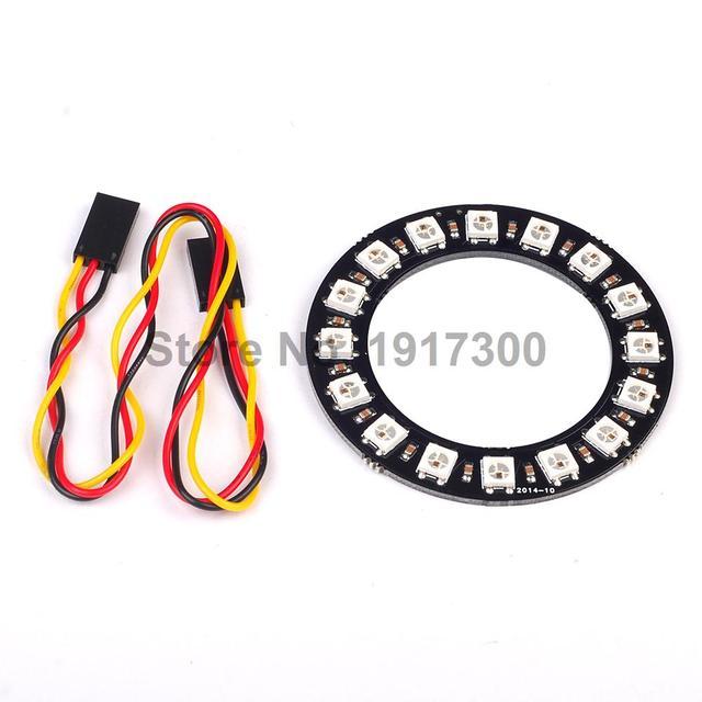 1 PCS WS2812 5050 LEVOU Anel de Produto Eletrônico 12 Bits RGB Integrado Módulo Driver Para Arduino