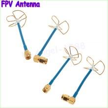 2pcs/lot  FPV 5.8Ghz Circular Polarized Clover Leaf Antenna High Gain Aerial Set (1 pair) Wholesale Dropship