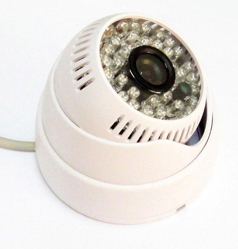 """1/3 """"hd Ahd Cctv Caméra 1080 P 2mp Intérieur Dôme Sécurité Ir Couleur Ircut 48ir Led Vision Nocturne, Blanc Texture Nette"""