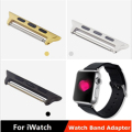 In stock ! 1 pair 38mm or 42mm Stainless steel quick release watch band adapter connector for apple watch iwatch strap(2 pieces)
