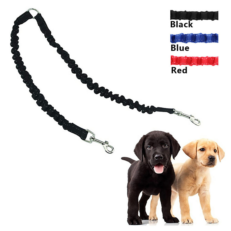 Cute 5M Automatic Retractable Pet Dog Traction Rope Stretching Band Walking Double Leashes Lead