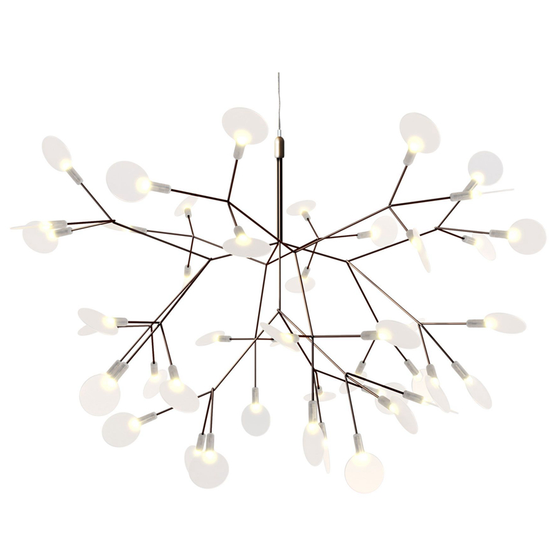 Kung Nordic Dia. 72cm Creative tree branch led pendant light firefly natural structure technique of conductive layers wireless modern circle tree branch led pendant light creative personality firefly dia 210cm nordic living room restaurant hall lobby lamp