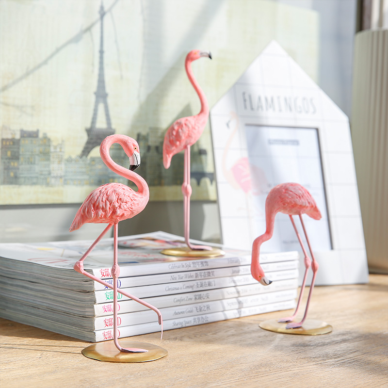 Статуэтки «фламинго» для декора | Aliexpress