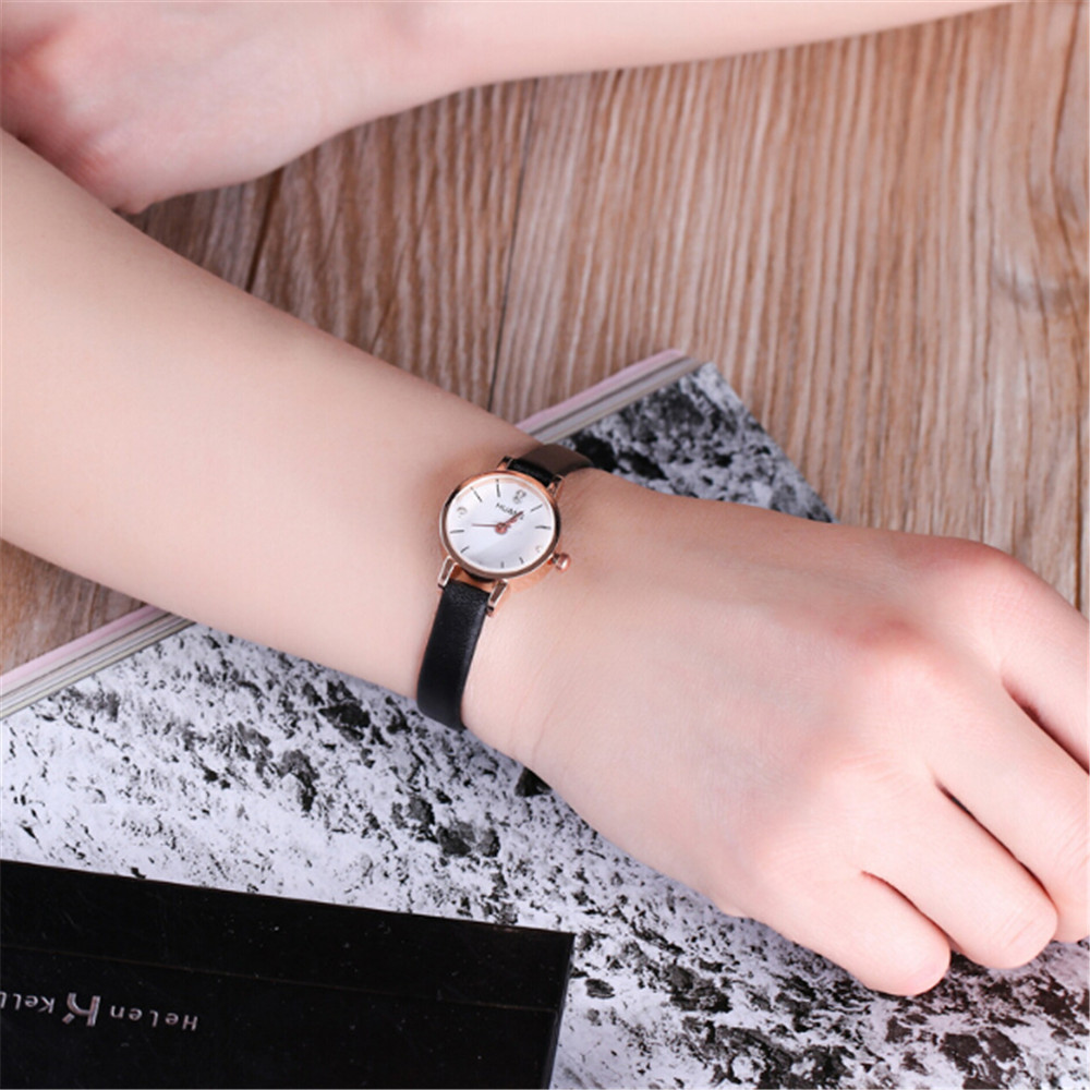 Casual Wrist Watches Minimalist Fashion Woman Fine Strap Watch Travel Souvenir Birthday Gifts Reloj Mujer Relogio Feminino