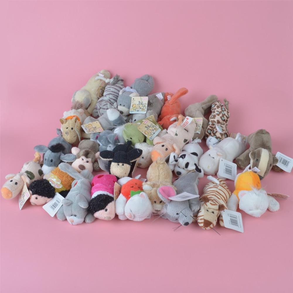 10 Pcs Plush Animals Fridge Magnet Toy, Baby Kids Plush Toy Gift Free Shipping