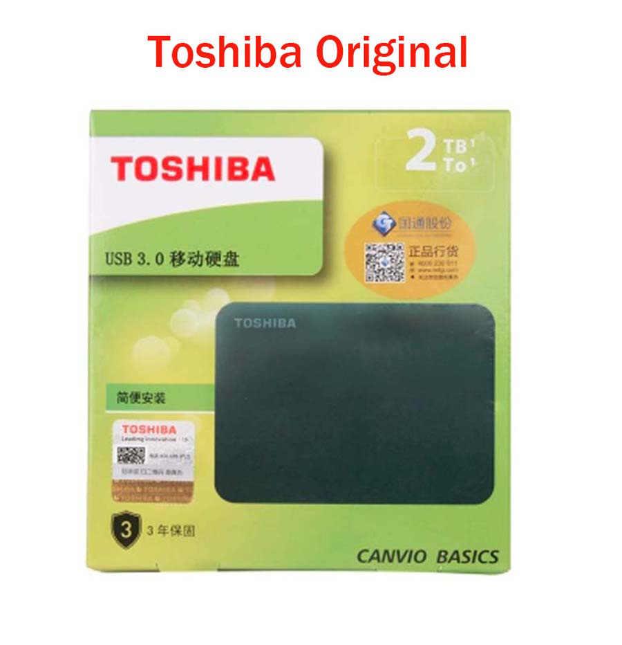 Toshiba 500GB 1 TB 2 TB HDD Eksternal 2.5 Portable Hard Drive Hard Disk HD Externo 500G 1 TB 2 TB USB3.0 Eksternal HDD Disk Harddisk