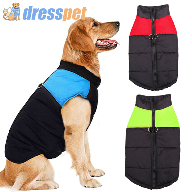 Dog Clothes For Small Big Large Dogs Pets Clothing Winter Cloth Jacket Puppy Pet Warm Waterproof Coat For French Bulldog Costume