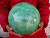 xd j0066 HUGE Glow In The Dark Stone crystal Fluorite sphere ball