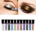 Solo Rodillo de Pigmento de Color de Sombra de Ojos Glitter Loose Powder Shimmer Eye Shadow Makeup LI02