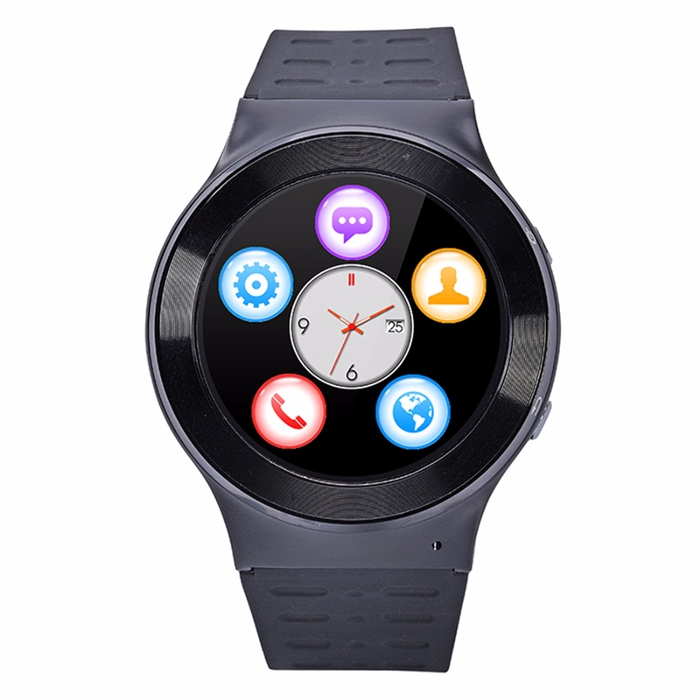 ZGPAX S99 1.33 inch Touch Screen 3G Calling WiFi Android Smart Watch Android 5.1 Quad-Core 1.3GHz ROM 8GB GPS 5MP