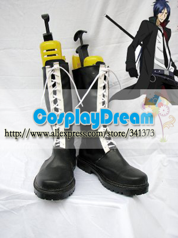 Customize Boots Hitman Reborn Rokudo Mukuro Cosplay Boots Costume Anime Party Boots