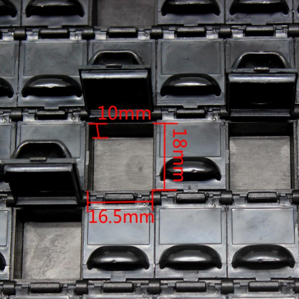 AideTek ESD biztonságos SMD tároló IC-dobozok Antisztatikus SMT - Szerszámtárolás - Fénykép 5