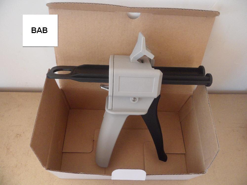 🛒 wholesale 5 pcs Epoxy resin AB Glue caulking Gun 50 ML 2