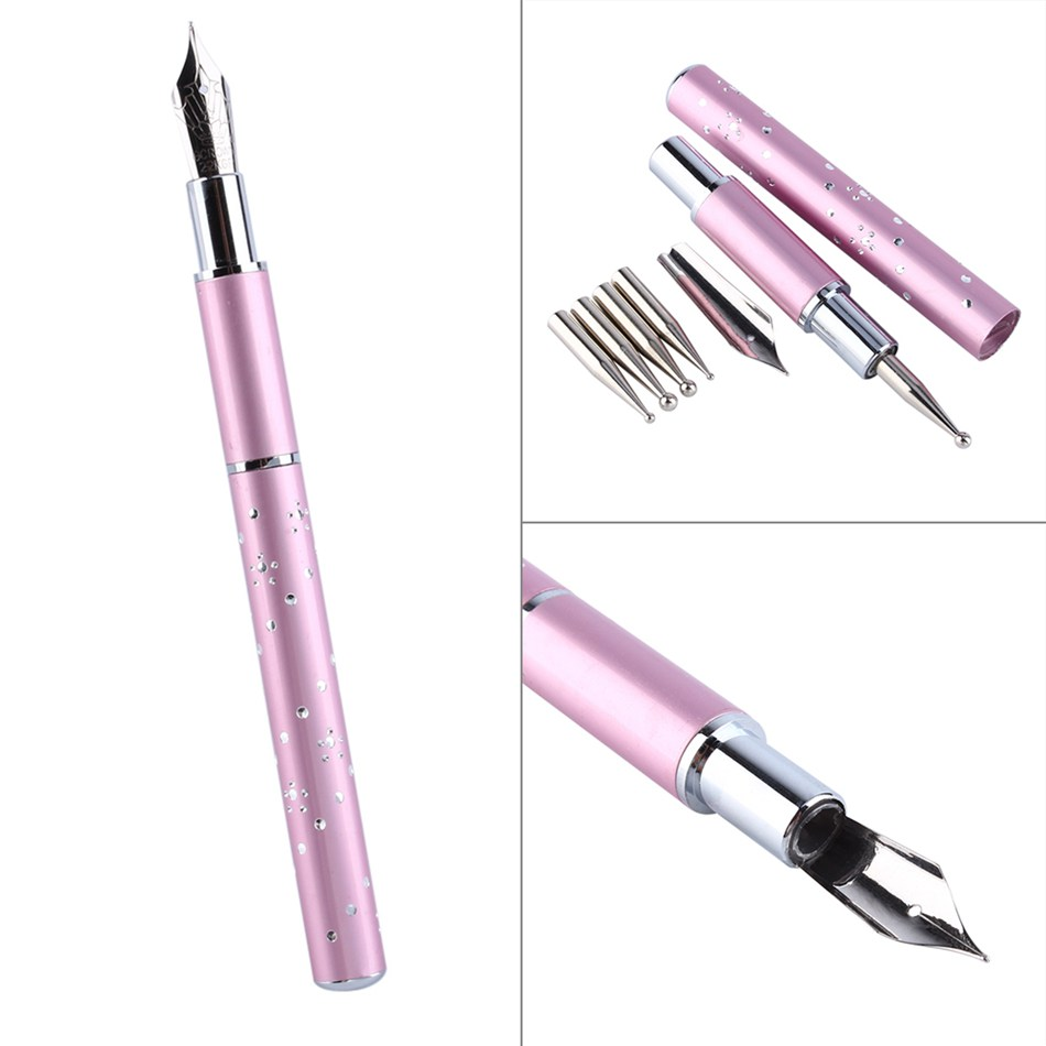 Aliexpress Professional Gel Design Nail Dotting Painting Pen Art Brush Set Drawing For Salon Manicure Diy Tools With 5 Points From