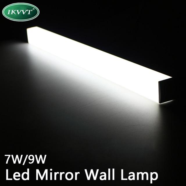 Moderne led spiegel licht 7 W 9 W waterdichte wandlamp armatuur AC220V  Acryl wandmontage badkamer verlichting in Moderne led spiegel licht 7 W 9 W  ...