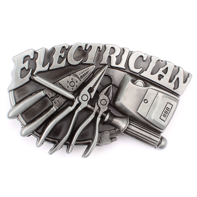 Electrical Character Buckle Buckle Workers