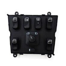 100% חדש גובה איכות אלקטרוניים מאסטר חשמל חלון בקרת מתג עבור מרצדס בנץ ML320 ML500 ML430 ML55 AMG 1638206610power window control switchwindow control switchwindow control